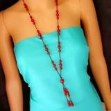 纯天然红玛瑙链